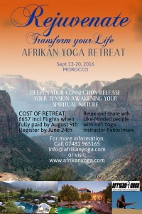 Afrikan Yoga Retreat1 Poster Template